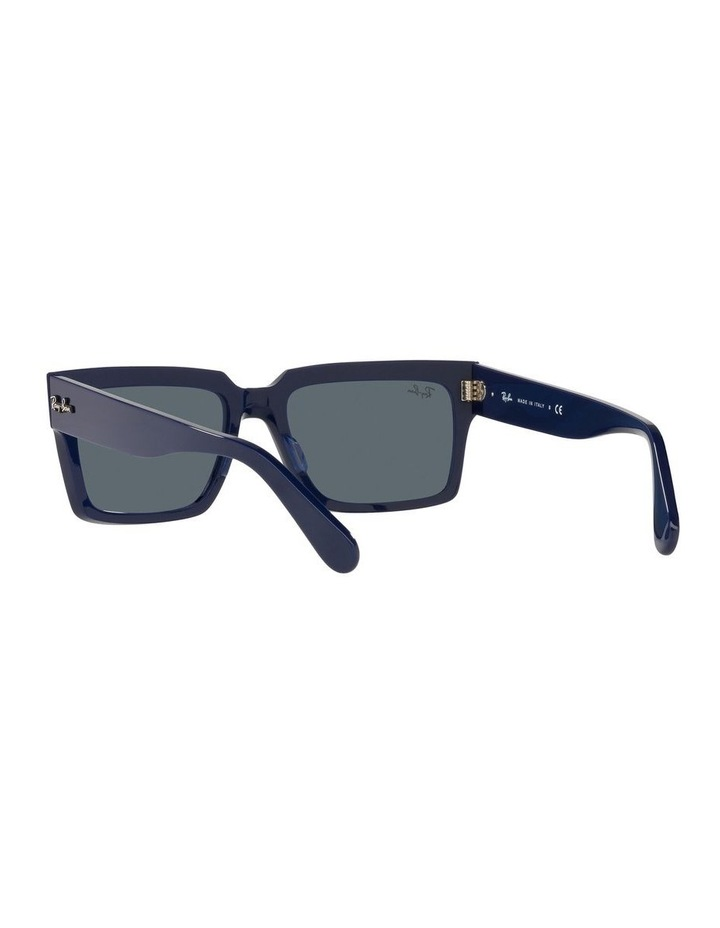 Inverness Black Rectangle Sunglasses 0RB2191 image 6