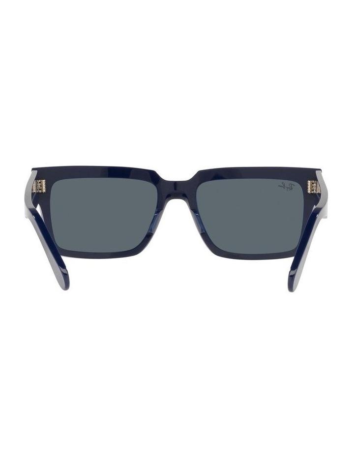 Inverness Black Rectangle Sunglasses 0RB2191 image 7