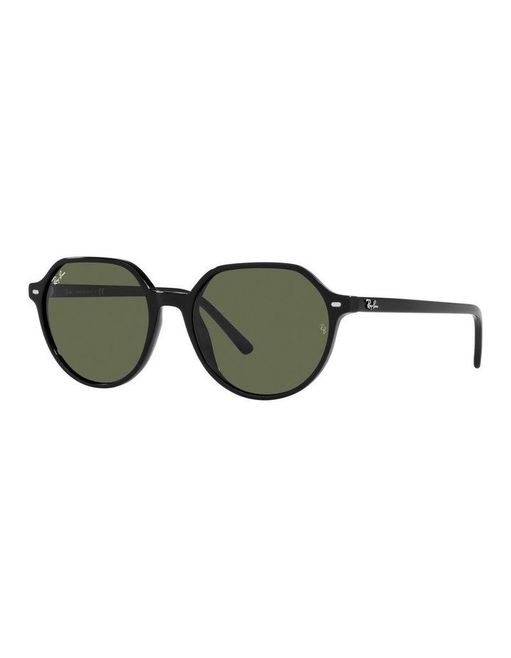 Thalia Black Square Sunglasses 0RB2195F image 1