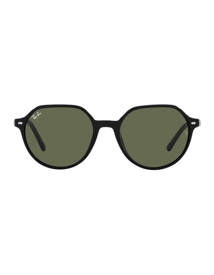 Thalia Black Square Sunglasses 0RB2195F image 2