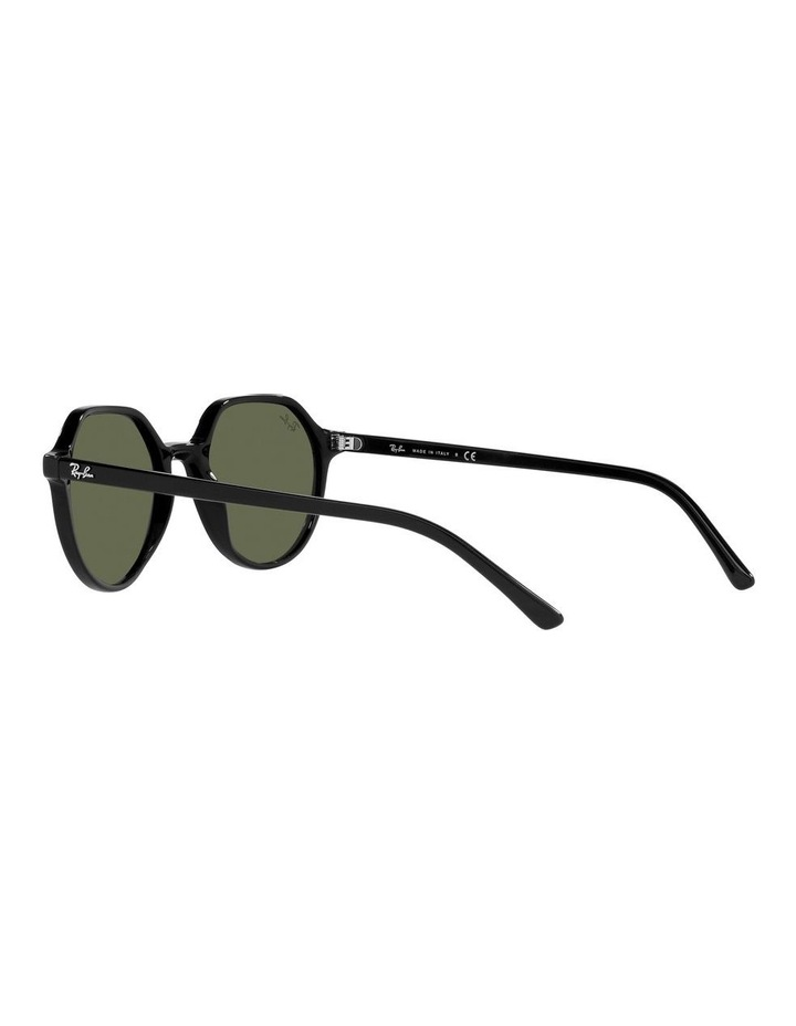 Thalia Black Square Sunglasses 0RB2195F image 5