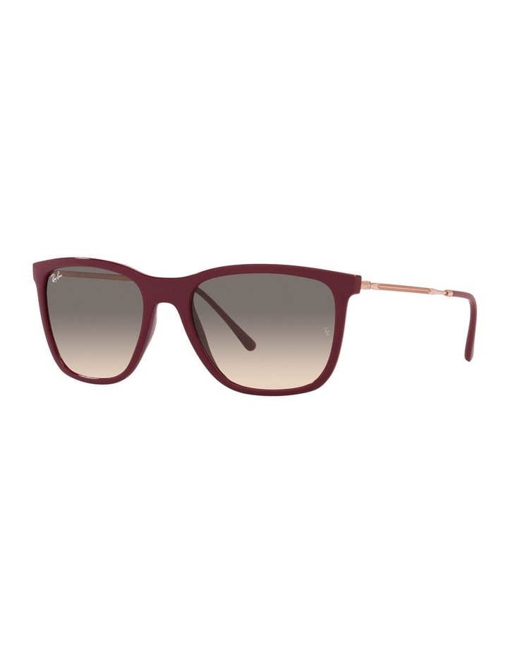 Red Rectangle Sunglasses 0RB4344 image 1