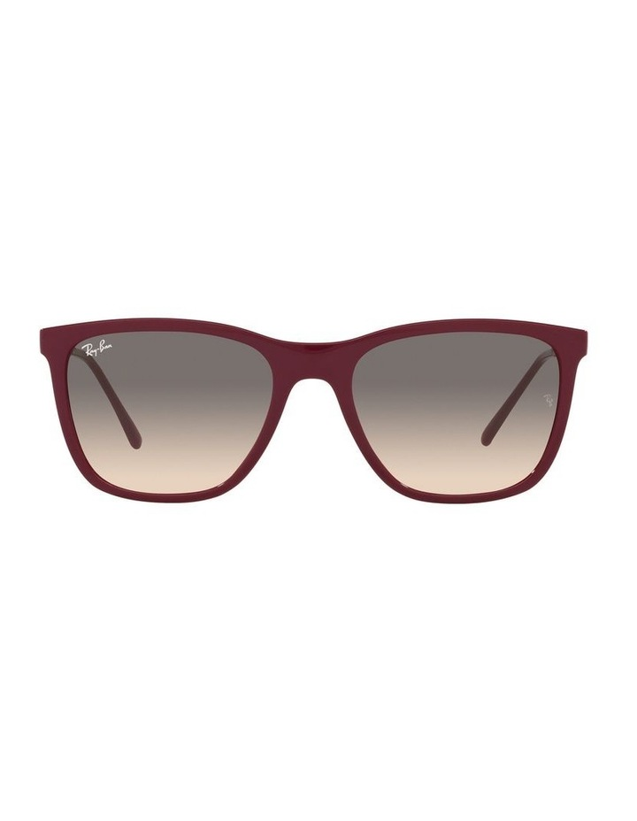 Red Rectangle Sunglasses 0RB4344 image 2