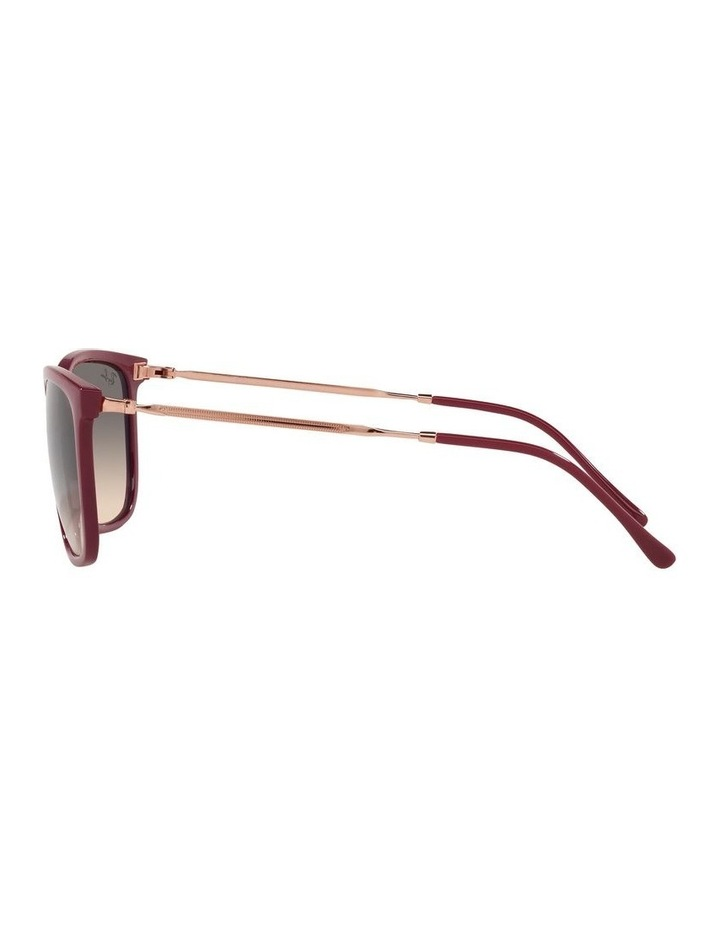Red Rectangle Sunglasses 0RB4344 image 4
