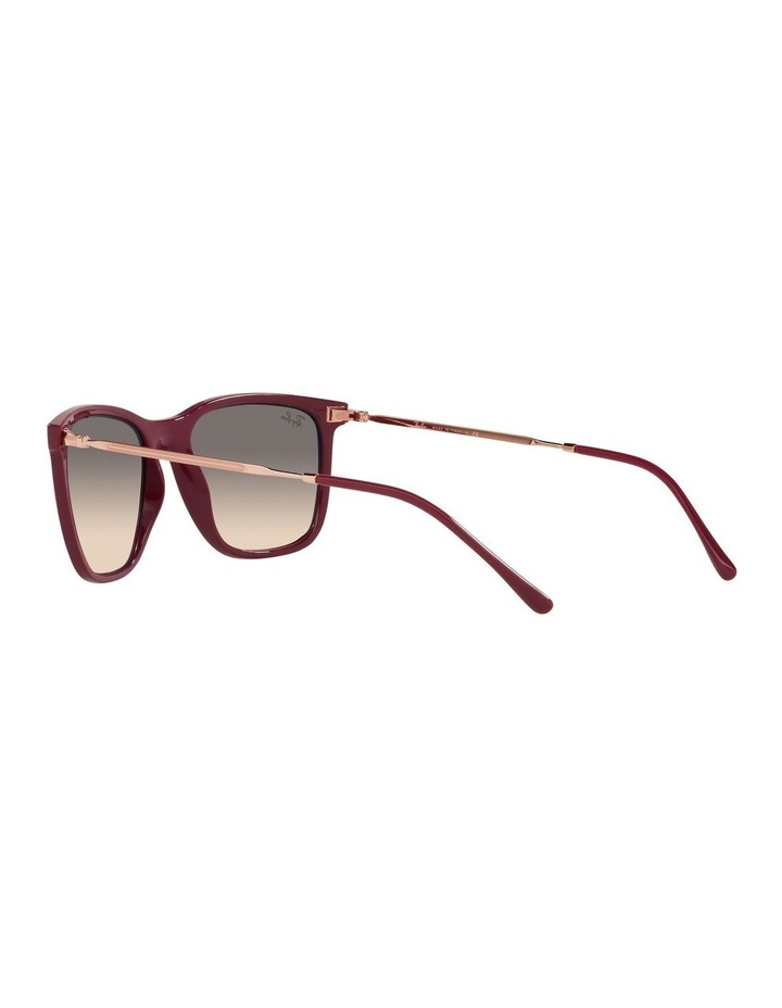 Red Rectangle Sunglasses 0RB4344 image 5