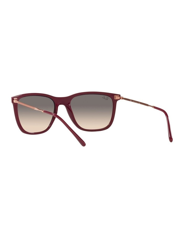 Red Rectangle Sunglasses 0RB4344 image 6