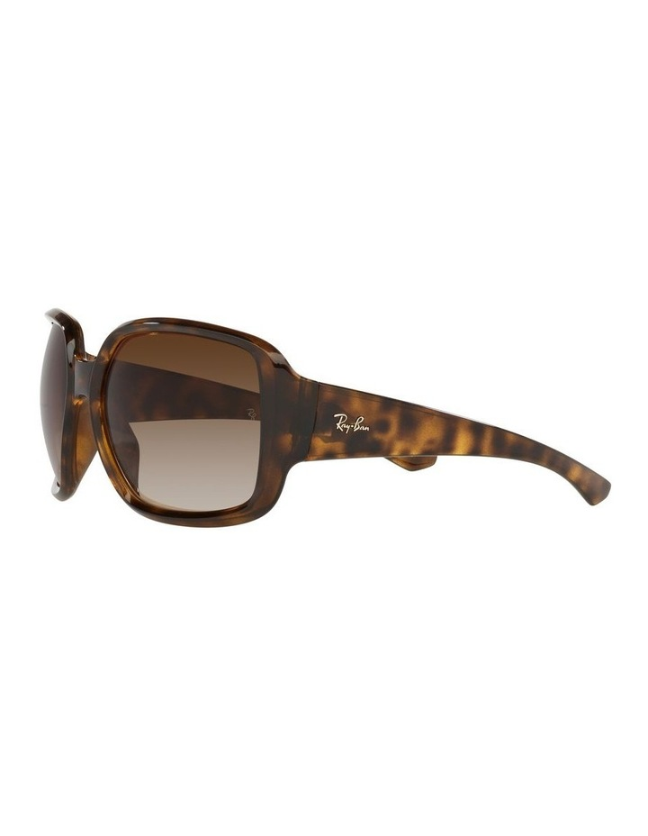 Brown Square Sunglasses 0RB4347 image 3