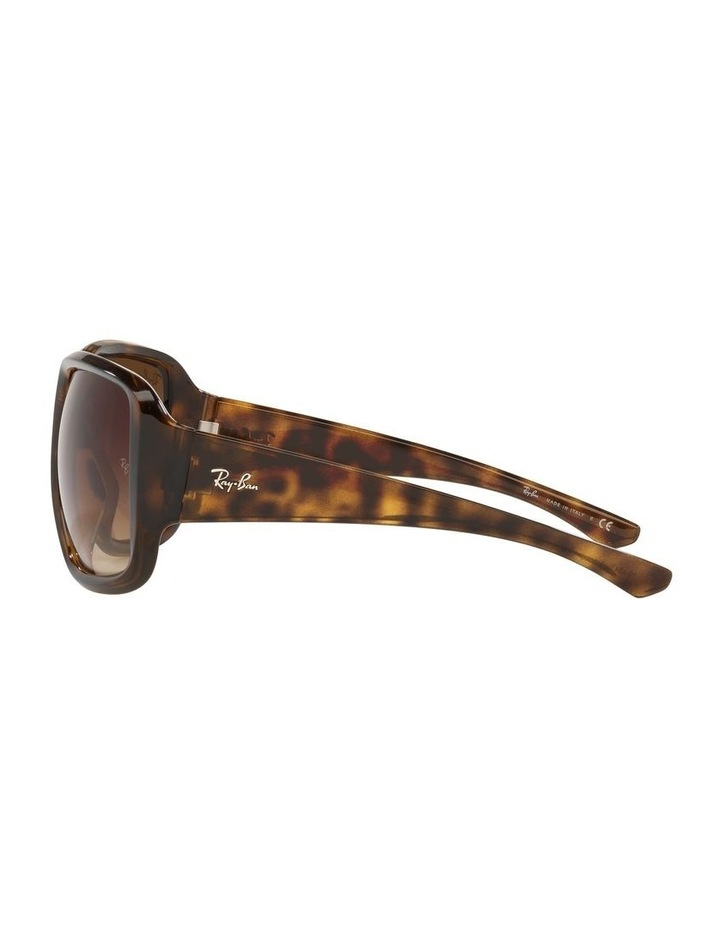 Brown Square Sunglasses 0RB4347 image 4