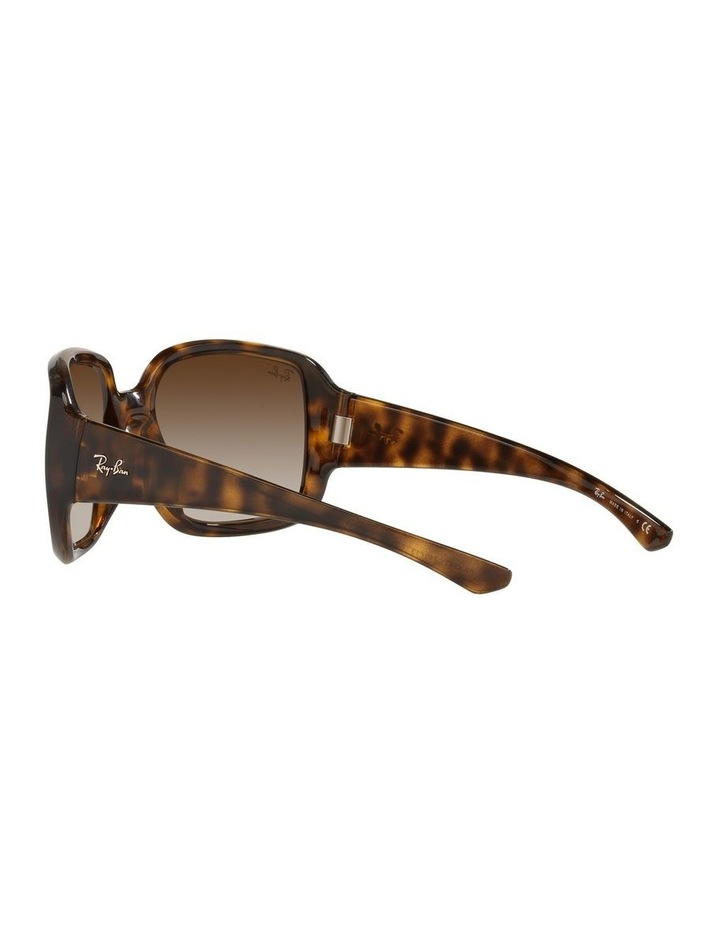 Brown Square Sunglasses 0RB4347 image 5