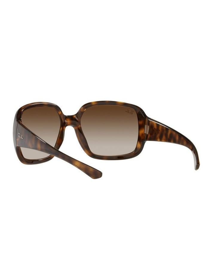 Brown Square Sunglasses 0RB4347 image 6