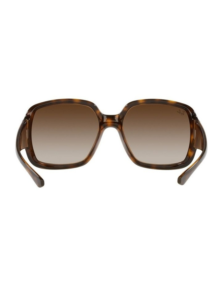 Brown Square Sunglasses 0RB4347 image 7