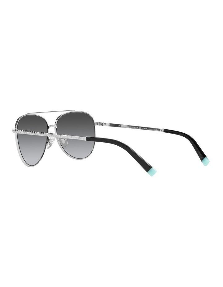 Polarised Black Aviator Sunglasses 0TF3074 image 5