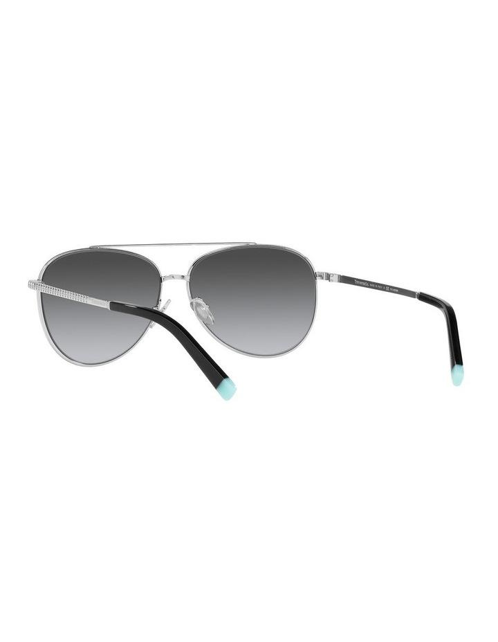 Polarised Black Aviator Sunglasses 0TF3074 image 6