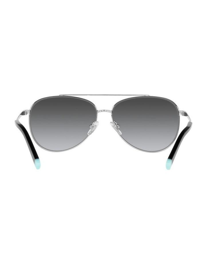 Polarised Black Aviator Sunglasses 0TF3074 image 7
