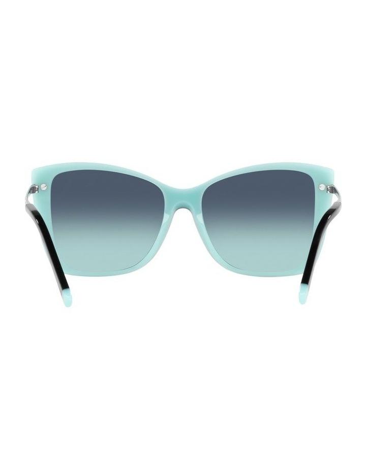 Black/ Blue Square Sunglasses 0TF4180 image 7