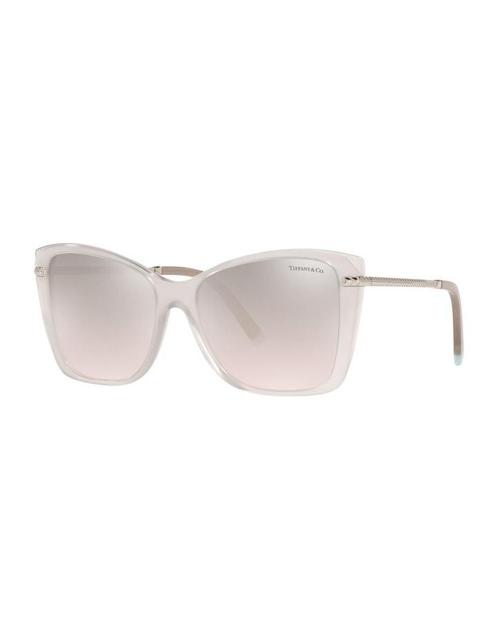 White Square Sunglasses 0TF4180 image 1