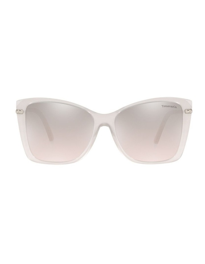 White Square Sunglasses 0TF4180 image 2
