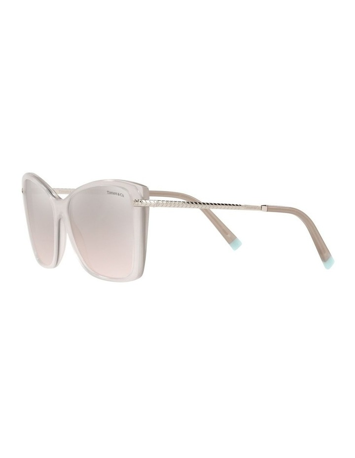 White Square Sunglasses 0TF4180 image 3