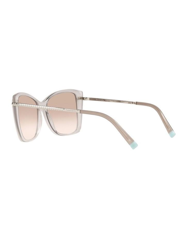 White Square Sunglasses 0TF4180 image 5
