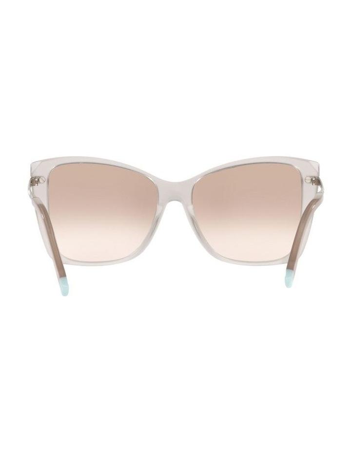 White Square Sunglasses 0TF4180 image 7