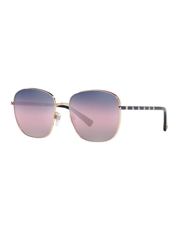 Gold/ Taupe Square Sunglasses 0VA2046 image 1