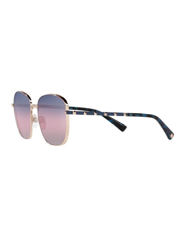 Gold/ Taupe Square Sunglasses 0VA2046 image 3