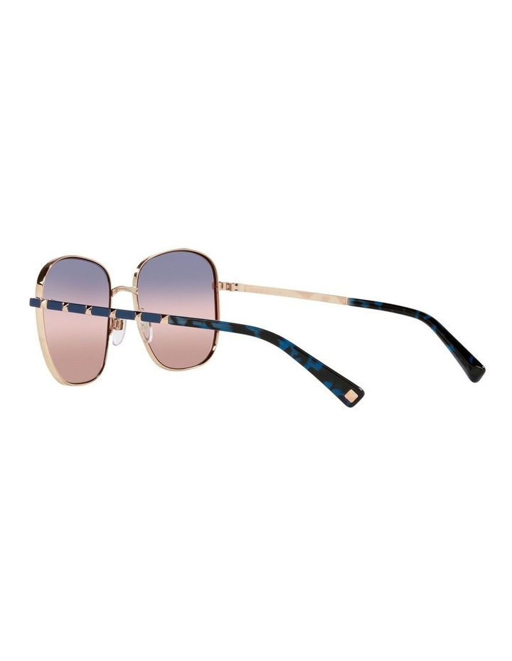 Gold/ Taupe Square Sunglasses 0VA2046 image 5
