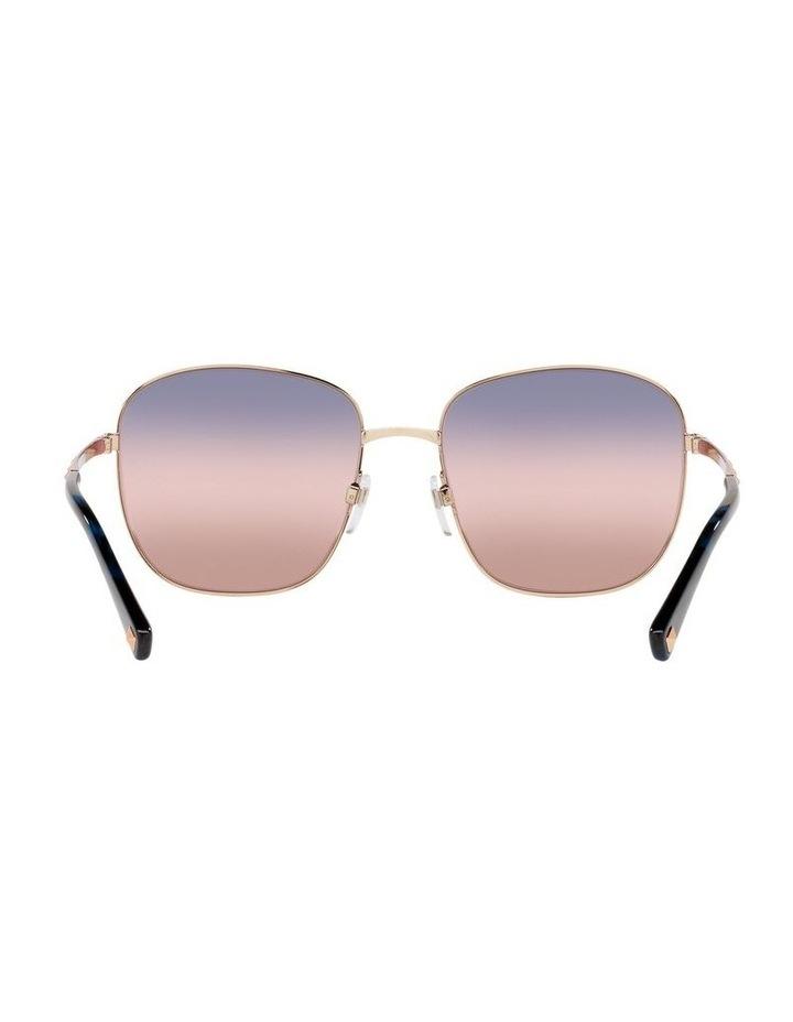 Gold/ Taupe Square Sunglasses 0VA2046 image 7
