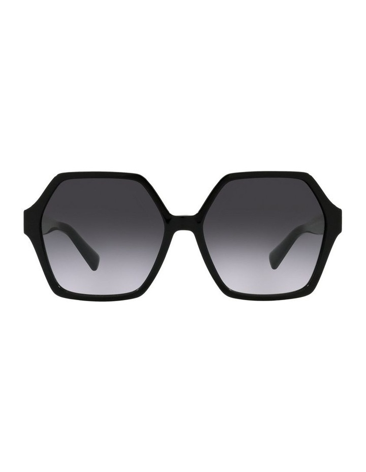 Black Square Sunglasses 0VA4088 image 2