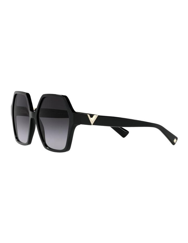 Black Square Sunglasses 0VA4088 image 3