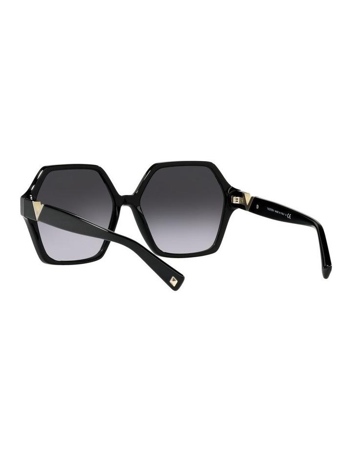 Black Square Sunglasses 0VA4088 image 6