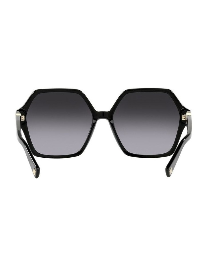 Black Square Sunglasses 0VA4088 image 7