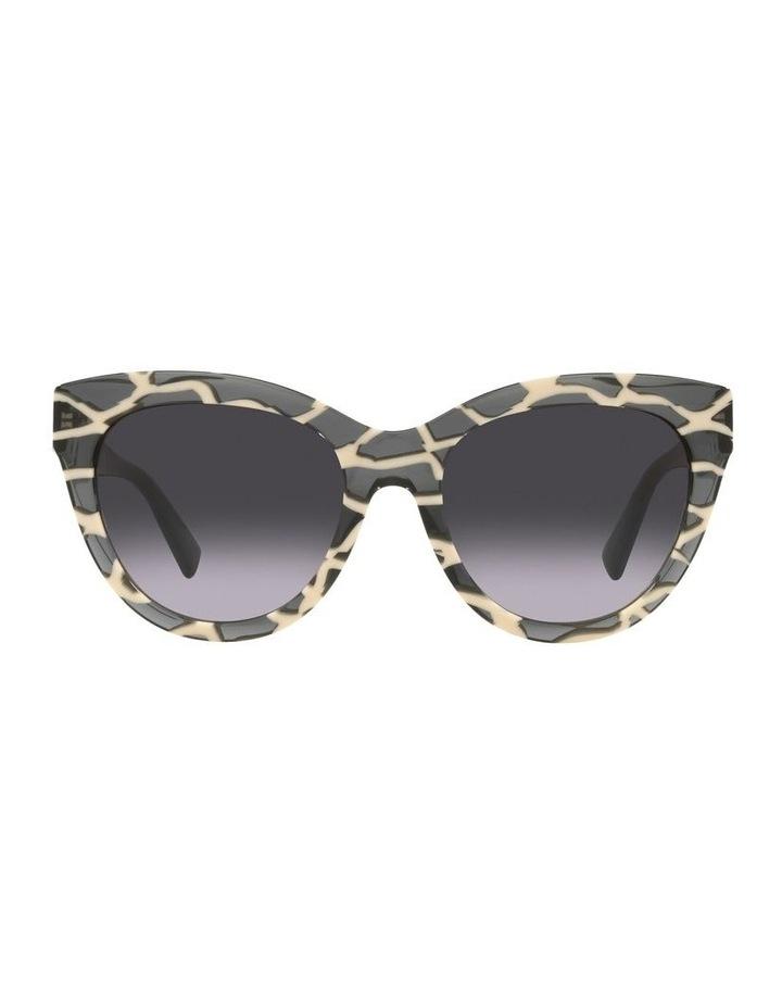 Black Tint Square Sunglasses 0VA4088F image 2