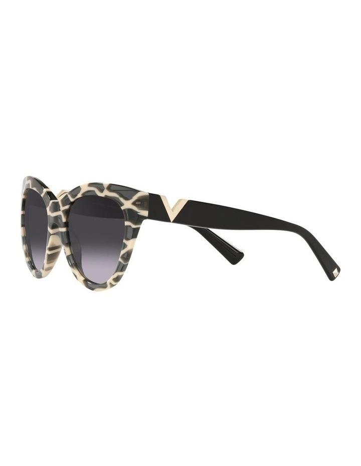 Black Tint Square Sunglasses 0VA4088F image 3