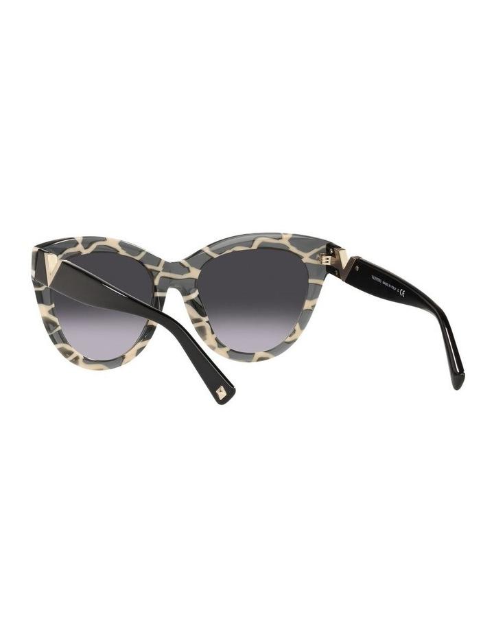 Black Tint Square Sunglasses 0VA4088F image 6