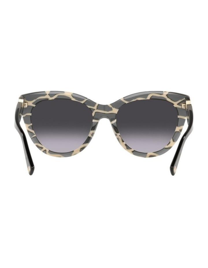 Black Tint Square Sunglasses 0VA4088F image 7
