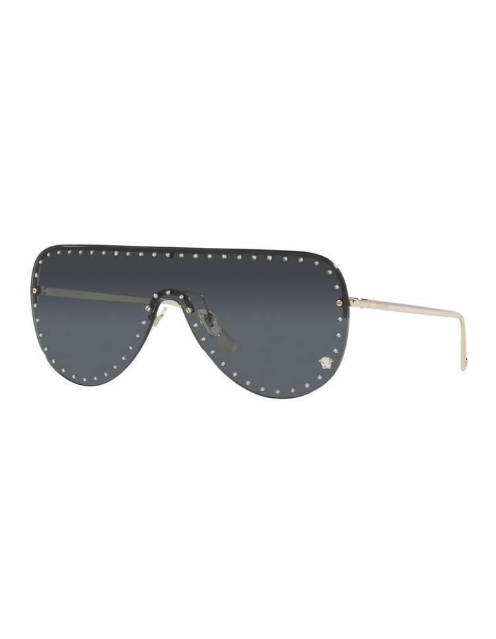 Gold/ Black Square Sunglasses 0VE2230B image 1