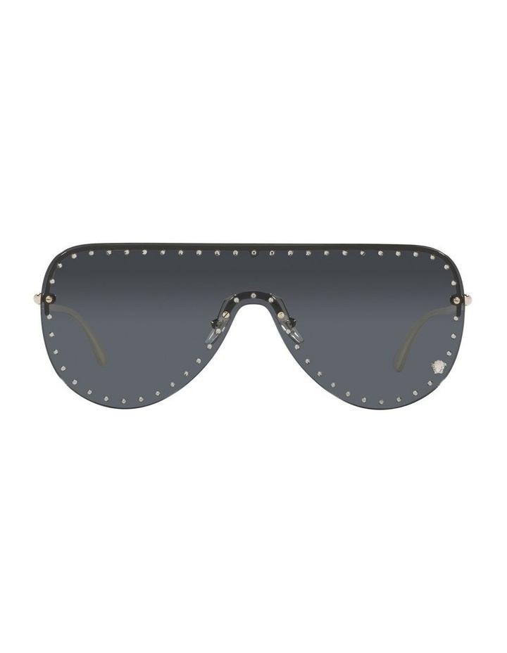 Gold/ Black Square Sunglasses 0VE2230B image 2
