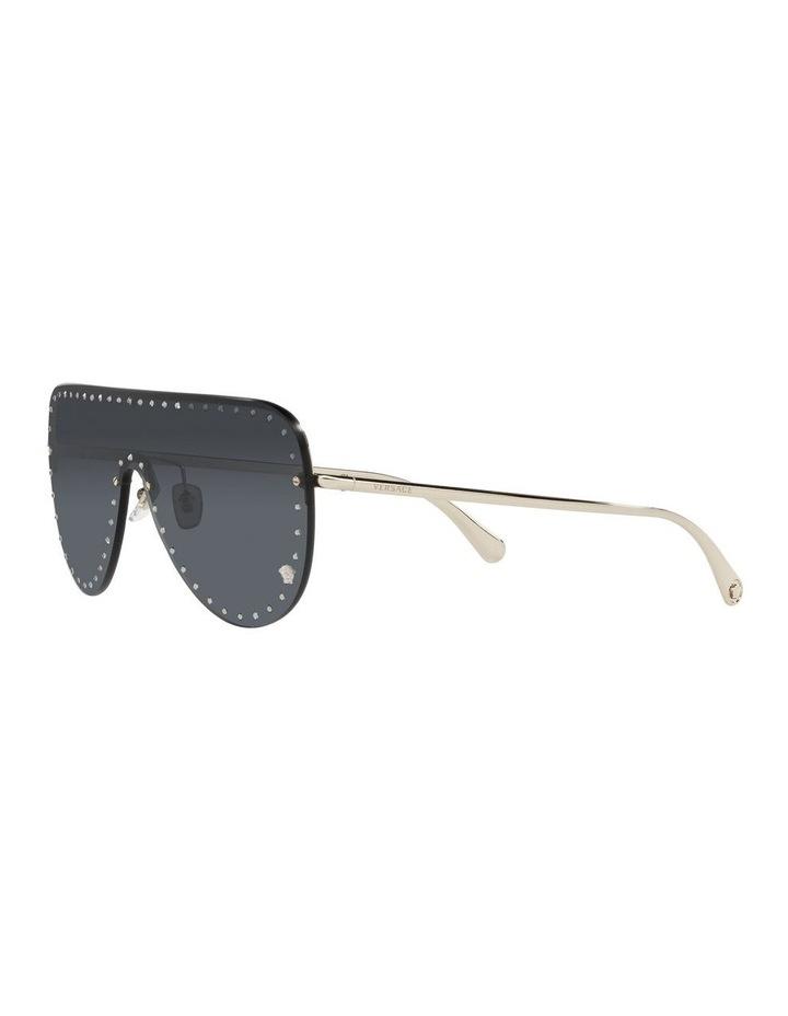 Gold/ Black Square Sunglasses 0VE2230B image 3