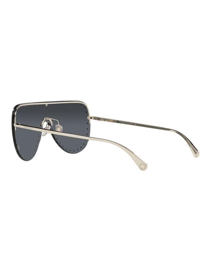 Gold/ Black Square Sunglasses 0VE2230B image 5