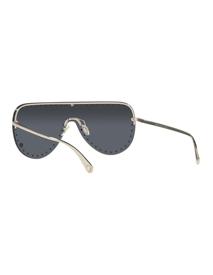 Gold/ Black Square Sunglasses 0VE2230B image 6
