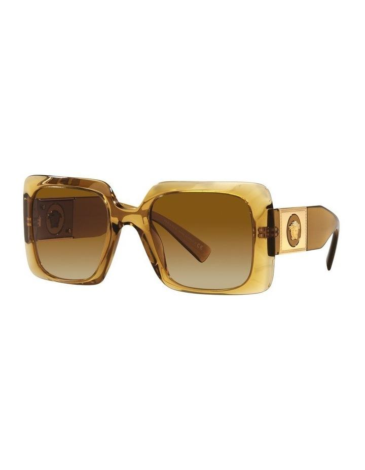 Yellow/ Gold Rectangle Sunglasses 0VE4405 image 1