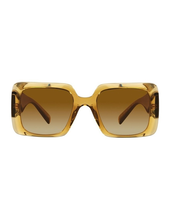Yellow/ Gold Rectangle Sunglasses 0VE4405 image 2