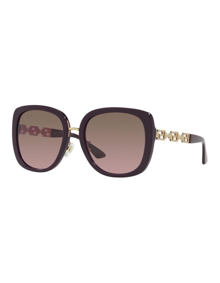 Red/ Gold Rectangle Sunglasses 0VE4407D image 1