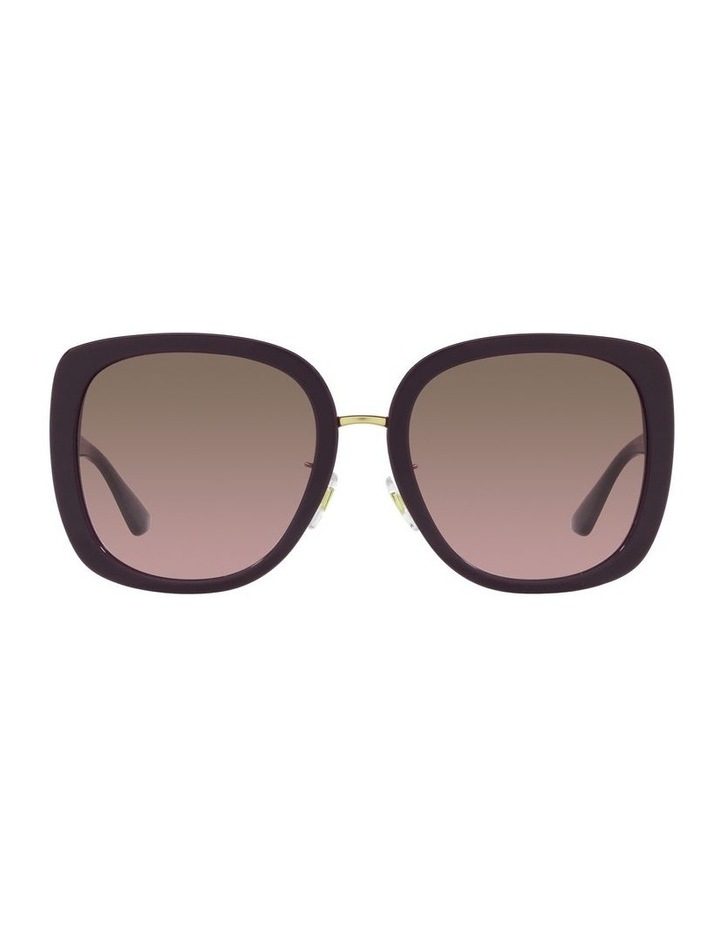 Red/ Gold Rectangle Sunglasses 0VE4407D image 2