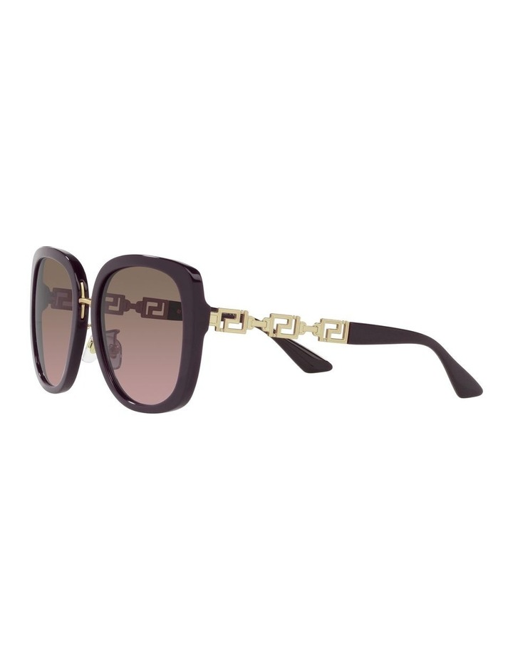 Red/ Gold Rectangle Sunglasses 0VE4407D image 3
