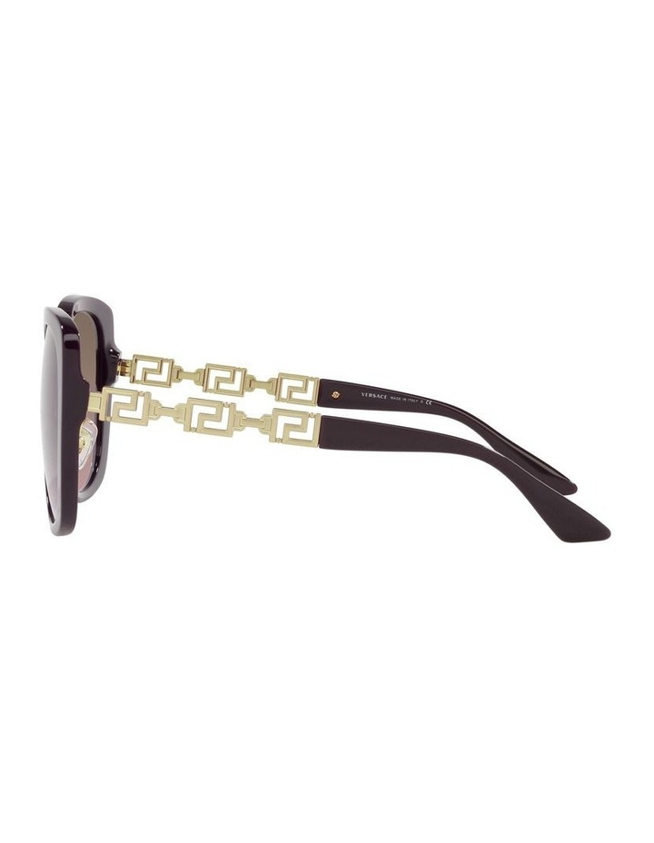 Red/ Gold Rectangle Sunglasses 0VE4407D image 4
