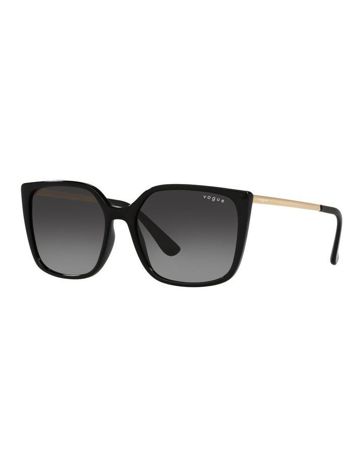 Black/ Gold Square Sunglasses 0VO5353S image 1