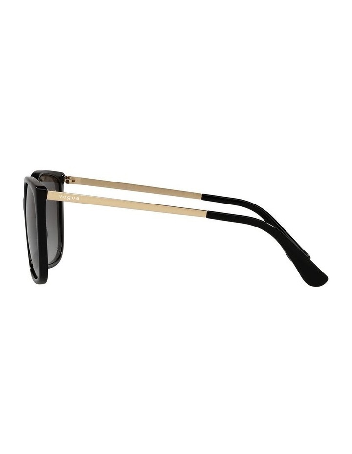 Black/ Gold Square Sunglasses 0VO5353S image 4
