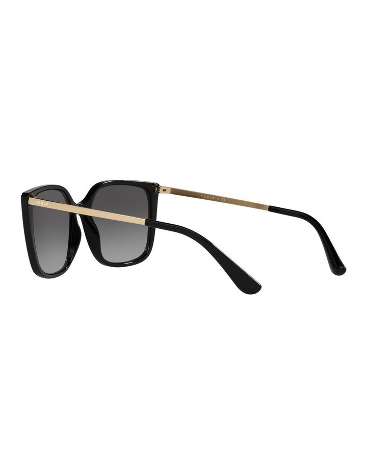 Black/ Gold Square Sunglasses 0VO5353S image 5